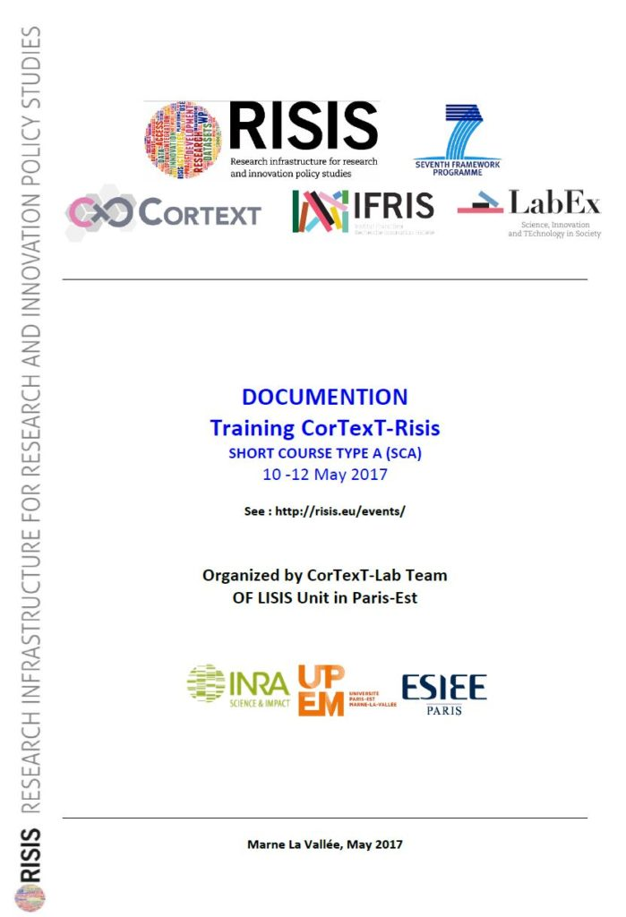 [English] RISIS two days CorText training course, 2017